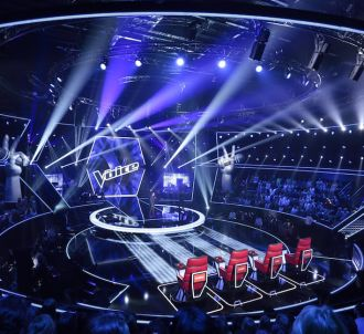 Le plateau de 'The Voice'