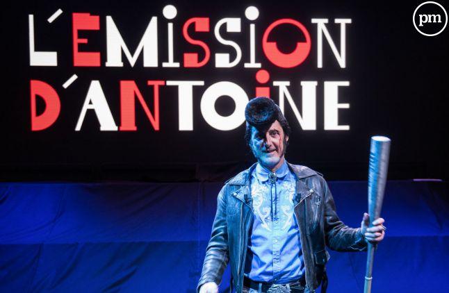 """""""L'émission d'Antoine"""", suivie par 60.000 téléspectateurs en moyenne."""