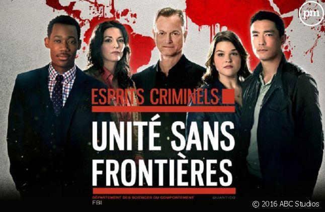 """""""Esprits Criminels : unité sans frontières""""."""