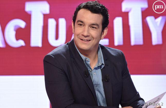 """Thomas Thouroude présente """"AcTualiTy"""" sur France 2."""