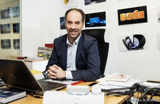 Jérôme Fouqueray, directeur général de W9.