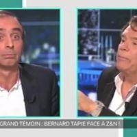 Clash entre Zemmour et Tapie sur Paris Première