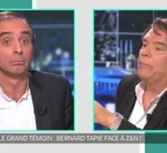 Clash entre Zemmour et Tapie.