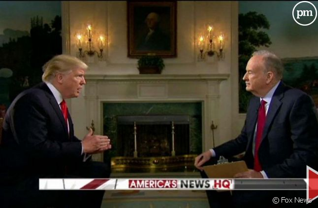 Donald Trump face à Bill O'Reilly