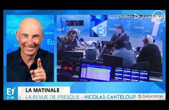 Malaise à Europe 1 après un sketch de Nicolas Canteloup