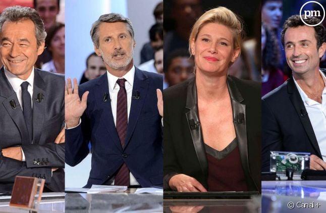"""Les quatre visages du """"Grand Journal"""""""
