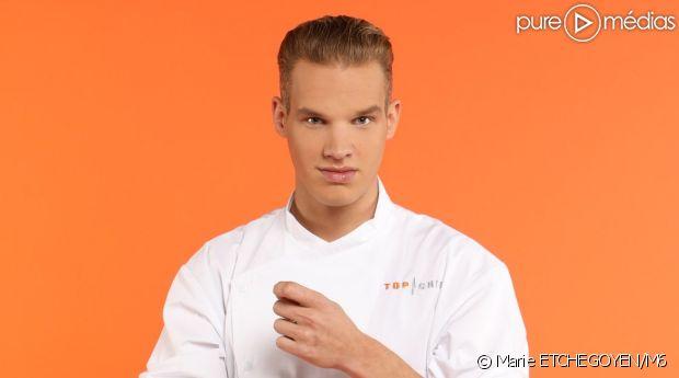 "Maximilien, candidat de ""Top Chef 2017 : Le Choc des brigades"""