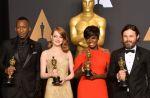 "Palmarès des Oscars 2017 : ""Moonlight"" meilleur film, Emma Stone bat Isabelle Huppert"