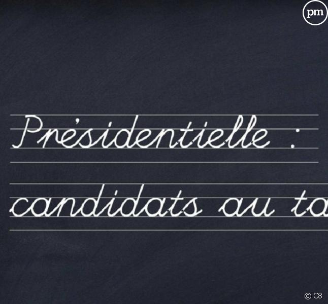 """""""Présidentielle : candidats au tableau !"""""""