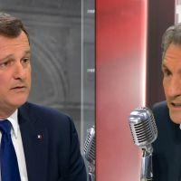 Echange houleux entre Jean-Jacques Bourdin et Louis Aliot