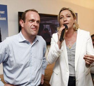 Steeve Briois et Marine Le Pen