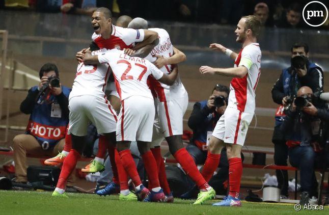 L'AS Monaco bat Manchester City et se qualifie pour les quarts de finale.