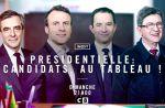 """À voir ce soir : C8 envoie les candidats à la présidentielle """"Au tableau !"""""""