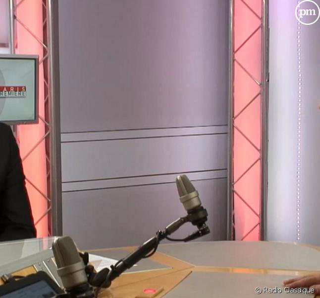 Guillaume Durand et François Fillon dans la matinale de Radio Classique.