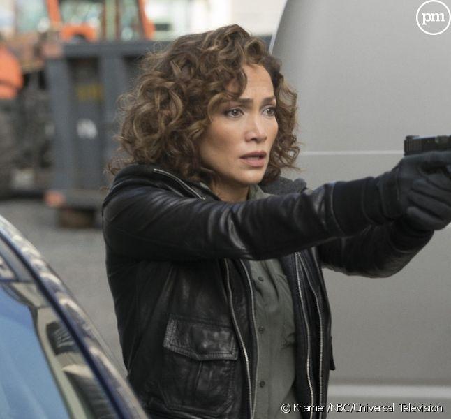 "Jennifer Lopez dans ""Shades of Blue"""