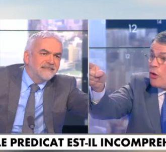 Clash entre Patrick Bloche et Pascal Praud.