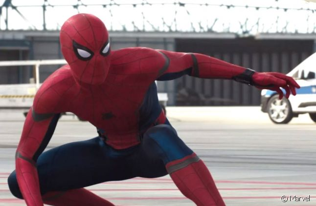 "Spider-Man dans ""Captain America : Civil War"""