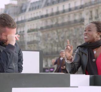 Mouloud Achour pris d'un fou rire face à Fatou Diome dans...