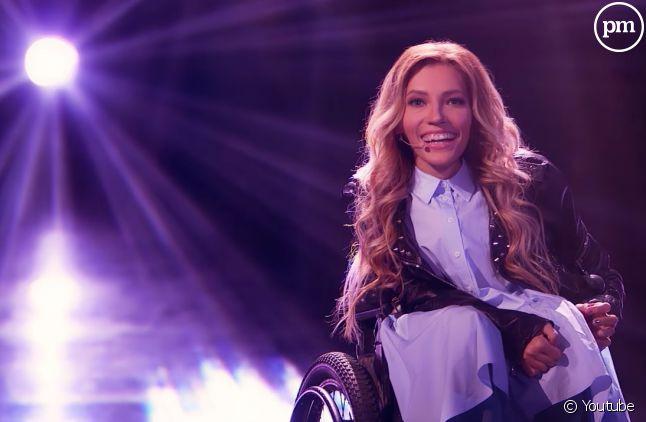 Yulia Samoilova, candidate russe à l'Eurovision 2017