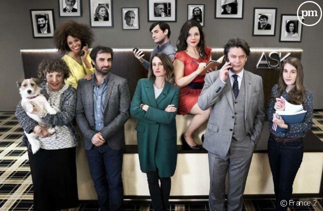 """Le cast de """"Dix pour cent"""""""