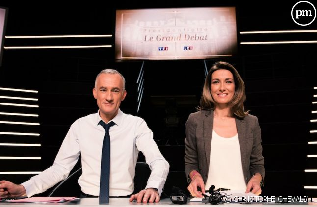 Gilles Bouleau et Anne-Claire Coudray.