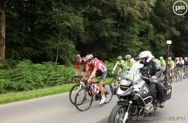 Equipe de France Télévisions lors du Tour de France 2016