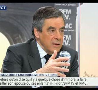 François Fillon, sur RMC et BFMTV le 3 avril 2017.