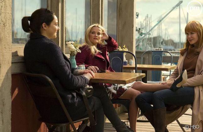 "Shailene Woodley, Reese Witherspoon et Nicole Kidman dans ""Big Little Lies"""