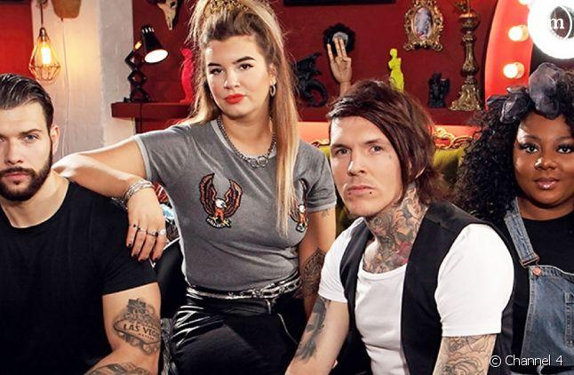 """Les jurés de l'émission britannique """"Tattoo Fixers"""""""