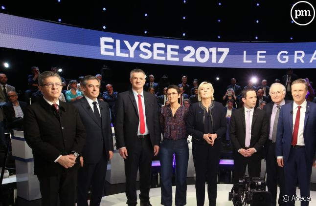 """Le Grand Débat"" du 4 avril 2017."