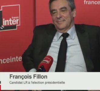François Fillon dans la matinale de France Inter