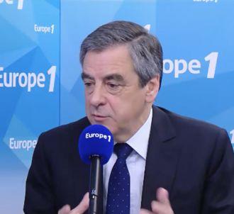 François Fillon, sur Europe 1 le 18 avril 2017.