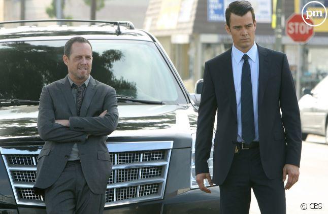 "Dean Winters et Josh Duhamel dans ""Battle Creek"""