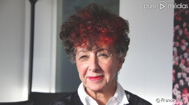 Laurence Bloch, les cheveux teints en rouge pour fêter le record d'audience d'Inter