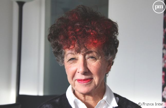 Laurence Bloch, les cheveux teints en rouge pour fêter le record d'audience d'Inter
