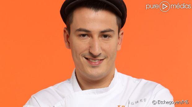 """Jérémie Izarn, gagnant de """"Top Chef 2017 : Le choc des brigades"""""""