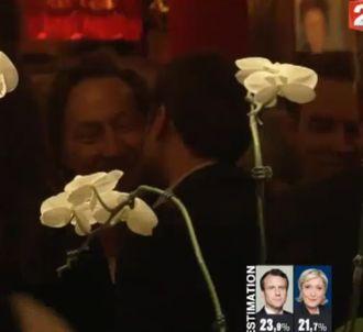 Stéphane Bern et Emmanuel Macron