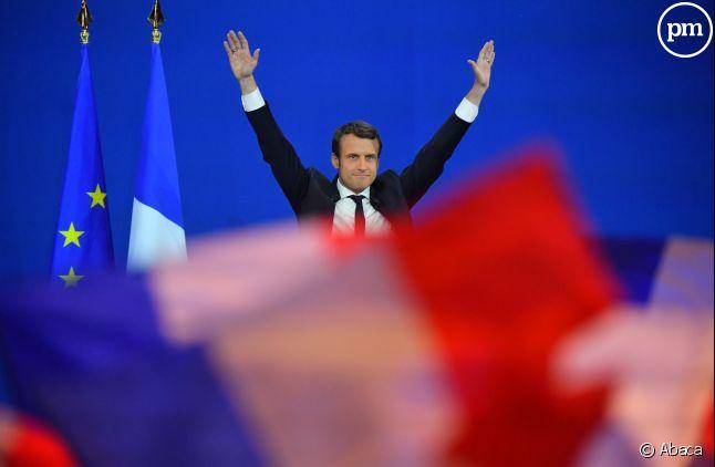 Emmanuel Macron, le 23 avril 2017.