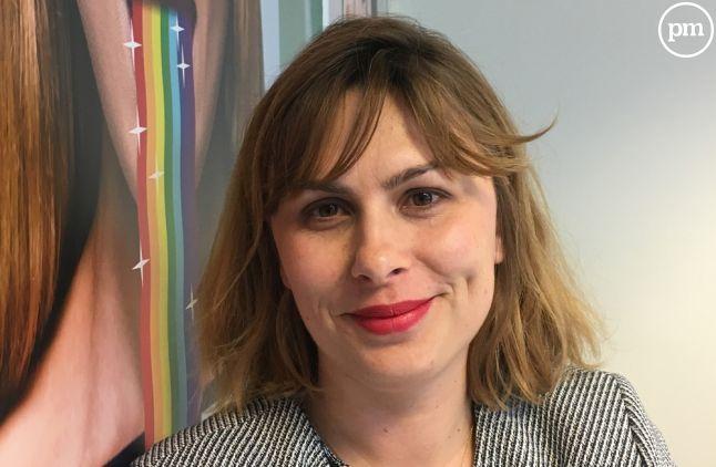 """Armelle Le Goff, rédactrice en chef à """"20 Minutes""""."""