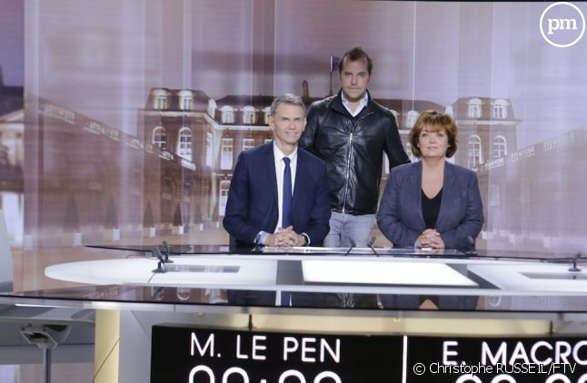 Christophe Jakubyszyn, Nathalie Saint Cricq, Tristan Carné