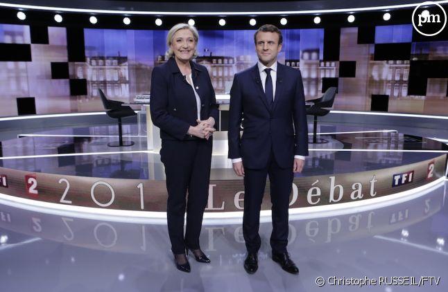 16,4 millions de téléspectateurs pour le débat Macron/Le Pen