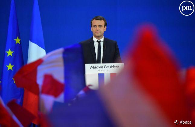 Emmanuel Macron, nouveau président de la République.