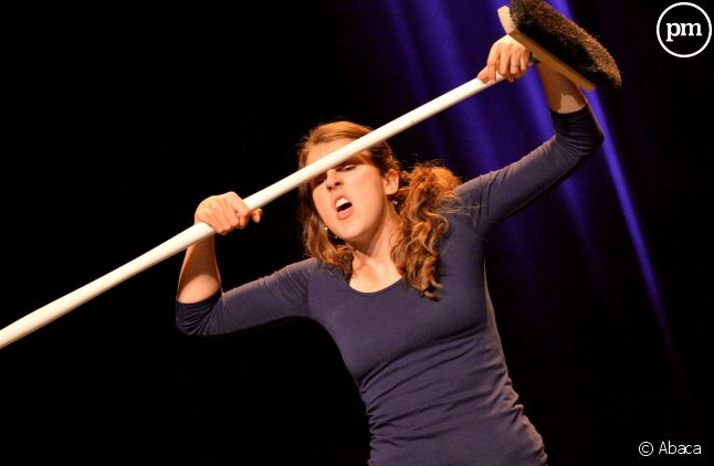 La comédienne Nicole Ferroni.