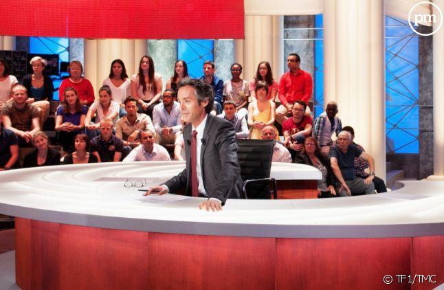 """""""Quotidien"""", sur TF1."""