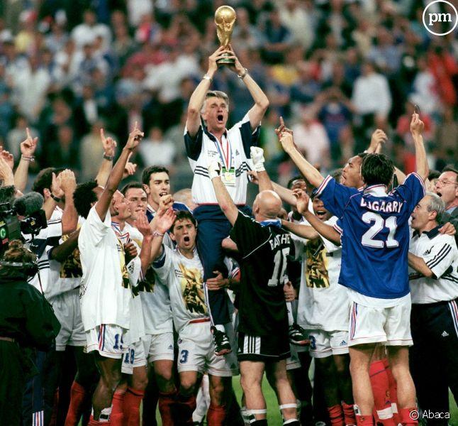 Equipe de France de 1998.