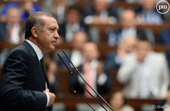 <span>Recep Tayyip Erdoğan, président de la Turquie.</span>