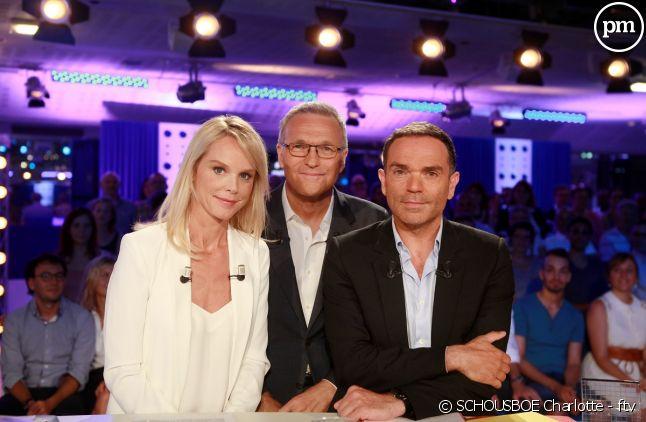 Vanessa Burggraf, Laurent Ruquier et Yann Moix