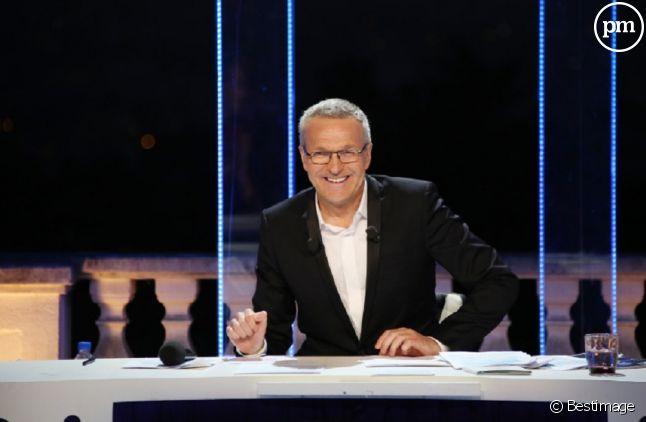 """Laurent Ruquier dans """"On n'est pas couché"""" spécial Festival de Cannes."""