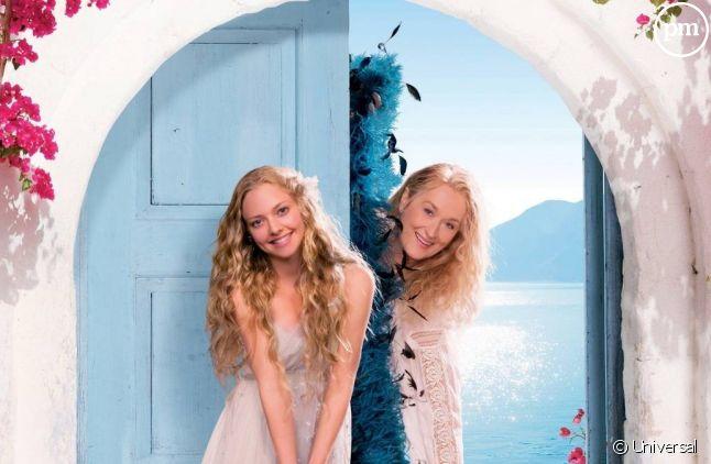 """Amanda Seyfried et Meryl Streep dans """"Mamma Mia !"""""""