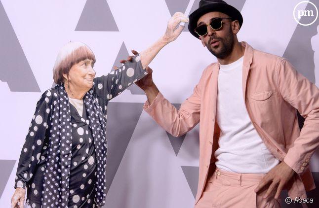 Reproduction d'Agnès Varda et JR